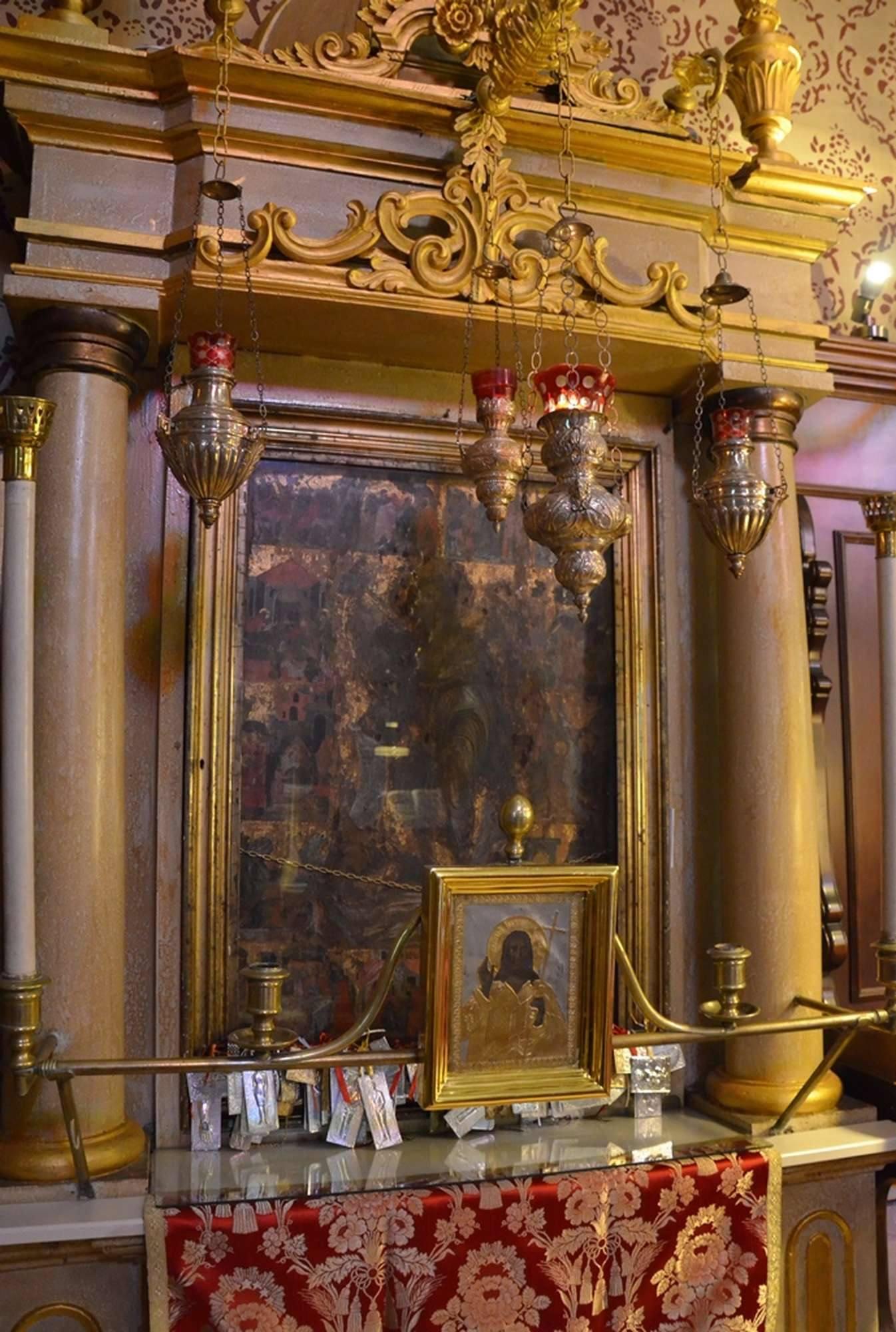 Чудотворная икона Иоанна Предтечи в одноименном храме