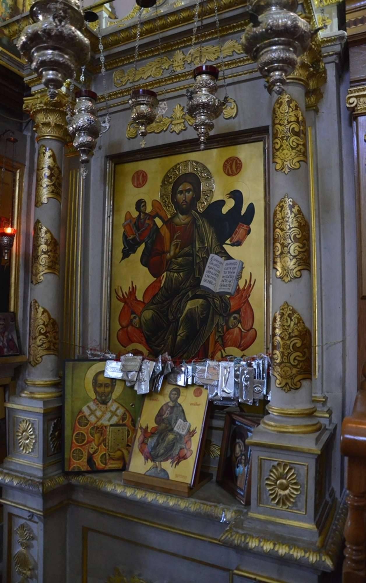 Почитаемая икона исихастирия Пантократор