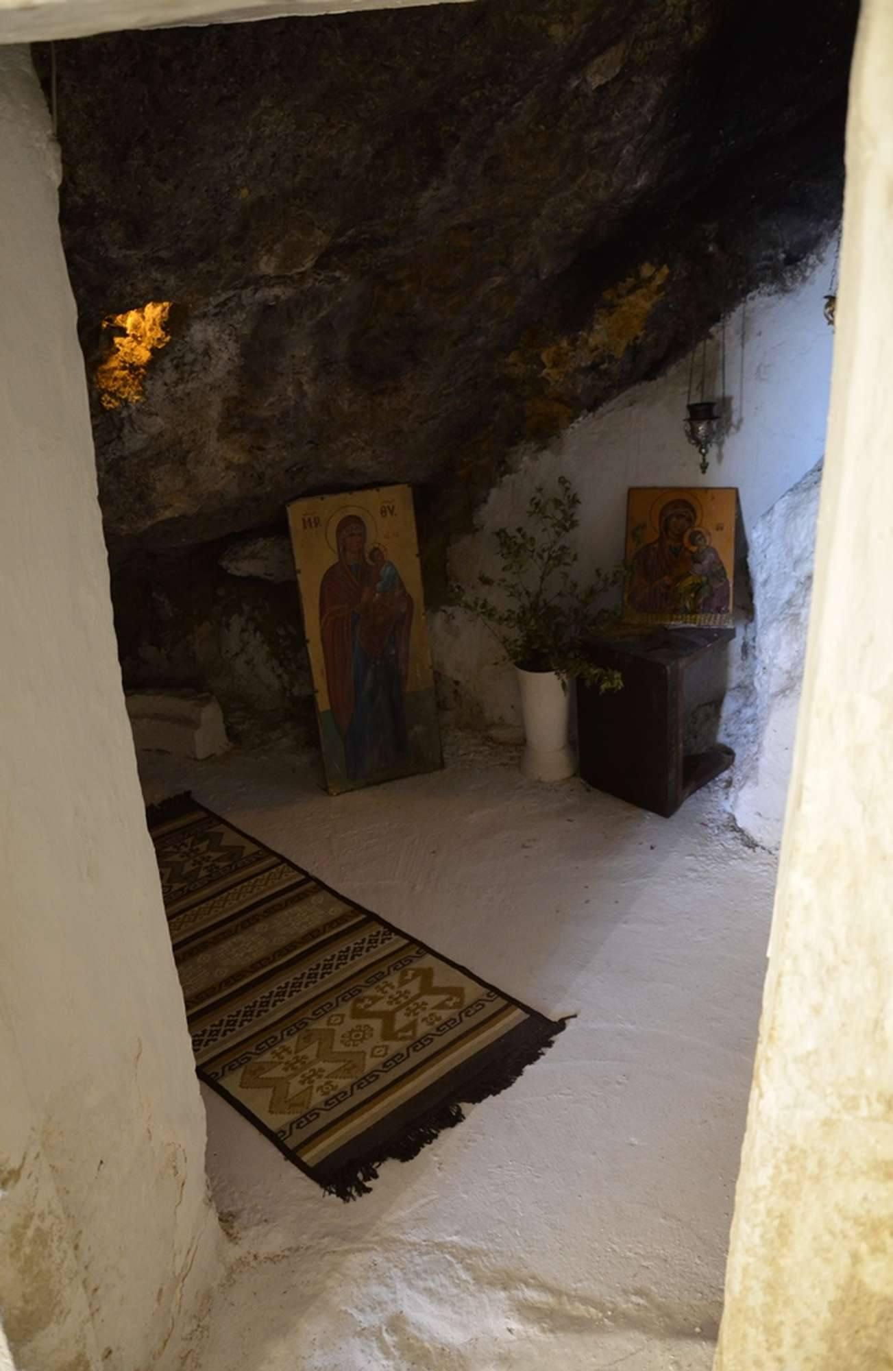 Место обретения иконы Пресвятой Богородицы Миртидиотиссы